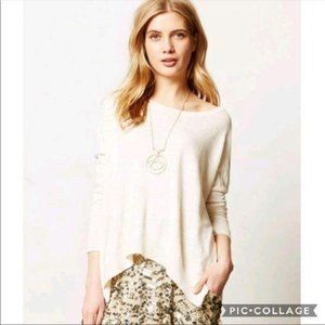 Anthropologie Moth Oversized Sweater XS